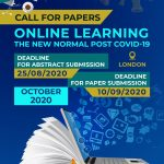 Online Learning the New Normal Post Covid-19, International Conference organised by the World Association for Sustainable Development (WASD) October 2020
